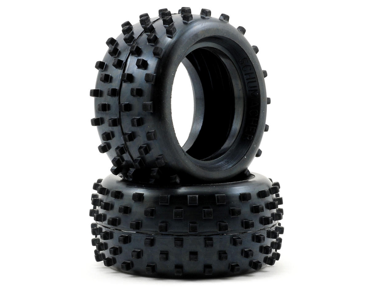 Block - Rear Tyres - Yellow - CAT (PR)